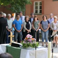 Segnung des neuen Presbyteriums