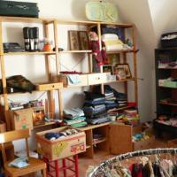 Die Kleiderkammer erhält wieder ihren alten Platz, nur der Weg dorthin hat sich etwas verändert.