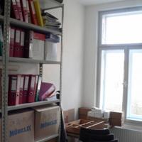 Im Archiv finden zahlreiche Unterlagen Platz.