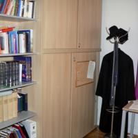 Das Büro des amtsführenden Pfarrers, Mag. David Zezula